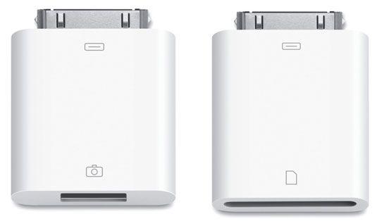 ���� - Acessórios iPad: Conexões Câmera