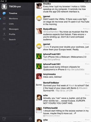 ���� - Apps iPad no Twitter