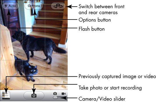 ���� - Noções básicas da câmera do iPhone 4S para a terceira idade