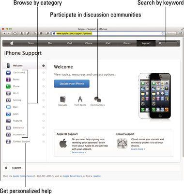 ���� - iPhone Solução de problemas Ajuda no site da Apple