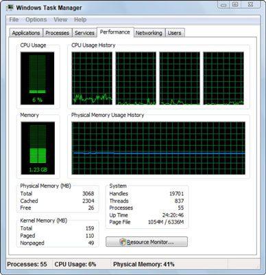 ���� - Uma fuga de memória causando sua PC Slow-Down?