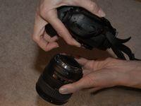 ���� - Mantendo sua câmera SLR Digital Sensor Limpo