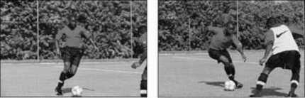 ���� - Saber quando e como a driblar no Futebol