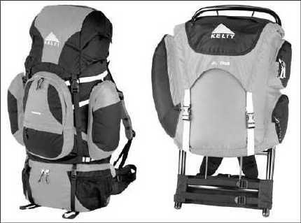 ���� - Carregar o Camping Backpack