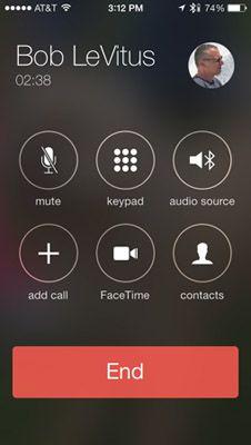 ���� - Fazer chamadas de vídeo com FaceTime em seu iPhone 5