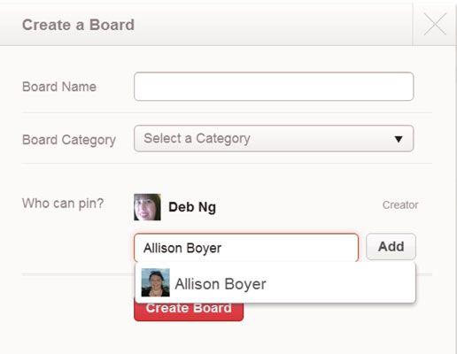 ���� - Comercialização no Pinterest: Como Colaborar na Boards Grupo