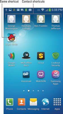 ���� - Maximize atalhos no seu Galaxy S 4