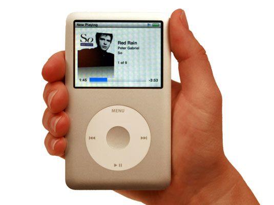 ���� - Menus para os modelos clássicos iPod eo iPod nano