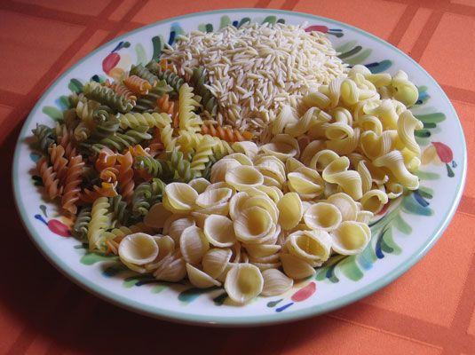 ���� - Diversos Pasta Shapes