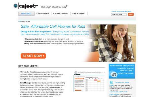 ���� - Opções de telefone celular para seus filhos