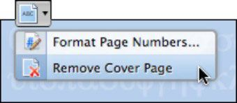 ���� - Office 2008 para Macs: remover itens Elementos Galeria de Documentos