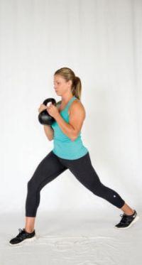���� - Paleo aptidão Exercício: O Cálice Lunge
