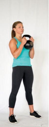 ���� - Paleo aptidão Exercício: O Cálice Squat