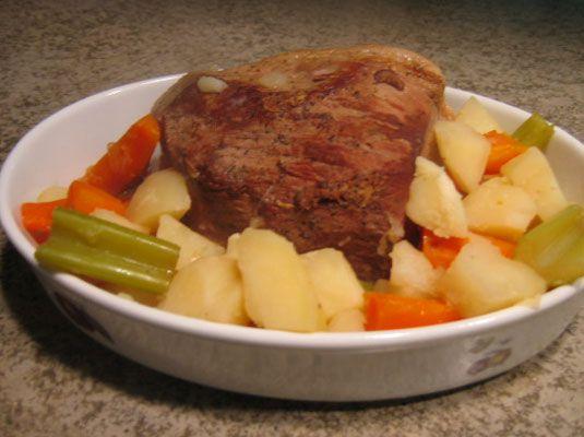 ���� - Perfeito carne assada