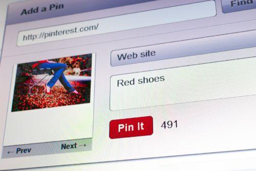 ���� - Marcar uma página da Web sem o botão Pinterest Pin It