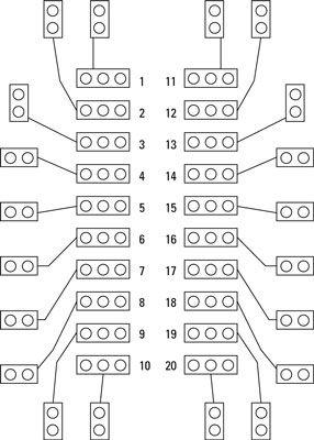 ���� - Prep construir um eletrônico Coin-Toss: lista de peças e PCB Layout