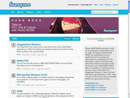 ���� - Presente oportuno Location-Based promoções, ofertas e conteúdo