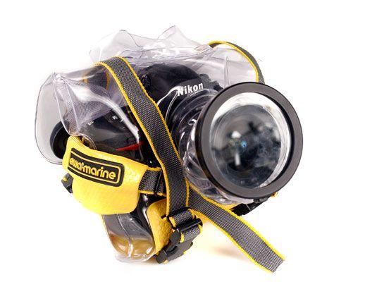 ���� - Proteger sua câmera digital em condições molhadas