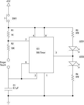 ���� - Protótipo de um eletrônico Coin-lance Prep: Specs, peças e ferramentas