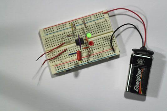 ���� - Protótipo de um eletrônico Coin-lance Passo 4: completar o circuito