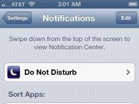 ���� - Coloque Notificações para trabalhar em seu iPhone 5