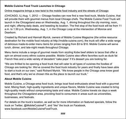 ���� - Juntos imprensa para o seu negócio móvel Alimentos