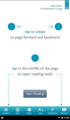 ���� - Leitura Basics para Nook Tablet