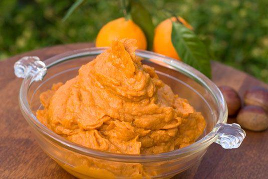 ���� - Receita para Mashed Vanilla-Scented Batata Doce