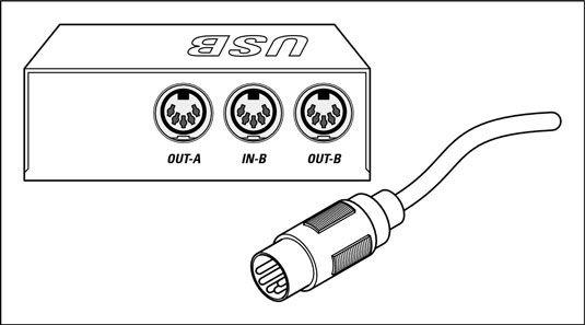 ���� - Gravação de música com MIDI, AES / EBU ou S / PDIF conectores digitais