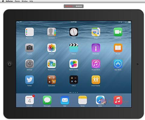 ���� - Gravação da sua atividade da tela do iPad para o Trabalho