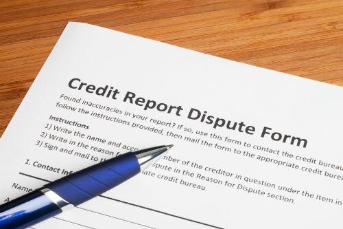 ���� - Carta de solicitação para remover um erro em seu relatório de crédito