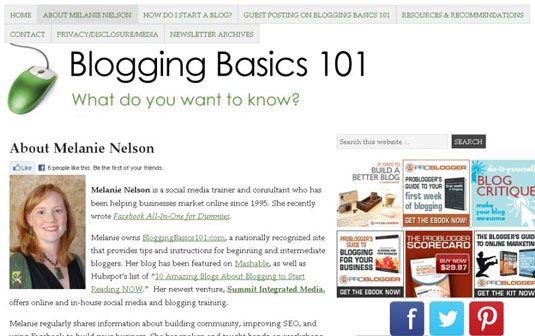 ���� - Preocupações de segurança para Blog do seu filho
