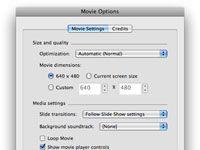 ���� - Salvar um PowerPoint para Mac apresentação como um filme QuickTime