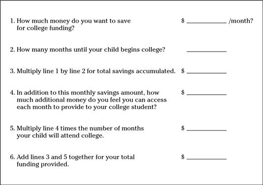 ���� - Poupar para e pagar por Alguns de educação faculdade do seu filho
