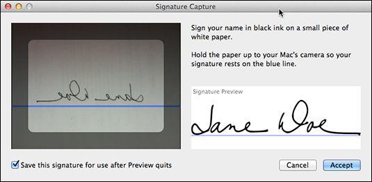 ���� - Assinar na linha pontilhada na pré-visualização