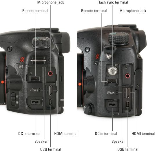 ���� - Sony Alpha SLT-A65 / A77 For Dummies