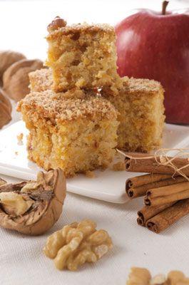 ���� - Temperada receita bolo de maçã