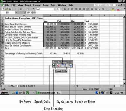 ���� - Carimbar Out Erros com Text to Speech no Excel 2002