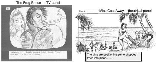 ���� - Storyboards seu filme