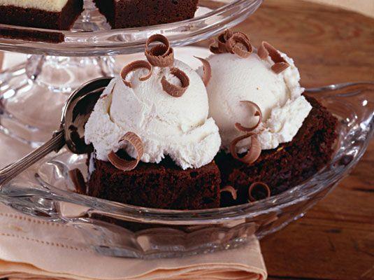 ���� - Super-Fudgy Brownies