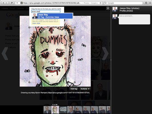 ���� - Como marcar pessoas nas Fotos do Google+