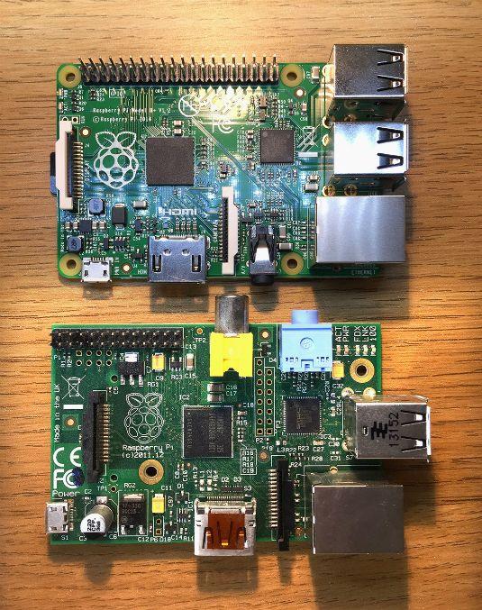 ���� - Dando uma olhada no Raspberry Pi Models