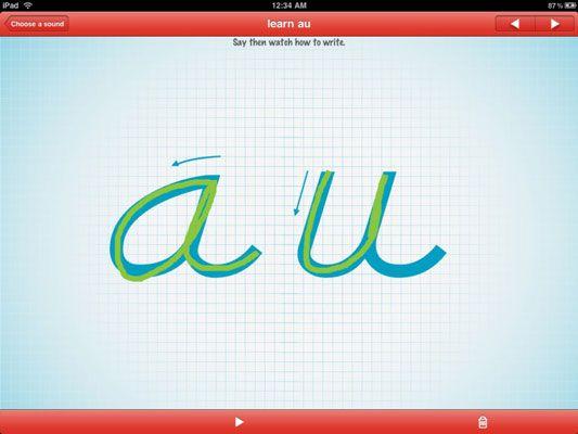 ���� - Ensinar as crianças a ler com o abc PocketPhonics App para iPad