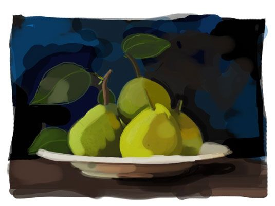 ���� - Ensinar os alunos a pintar com pincéis iPad App