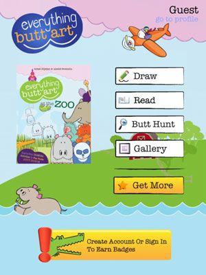 ���� - Ensinar os alunos Jovens desenhar com Tudo Bundas Art iPad App