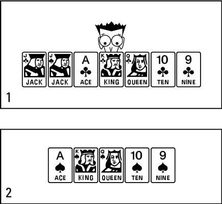 ���� - Os princípios de jogar Euchre