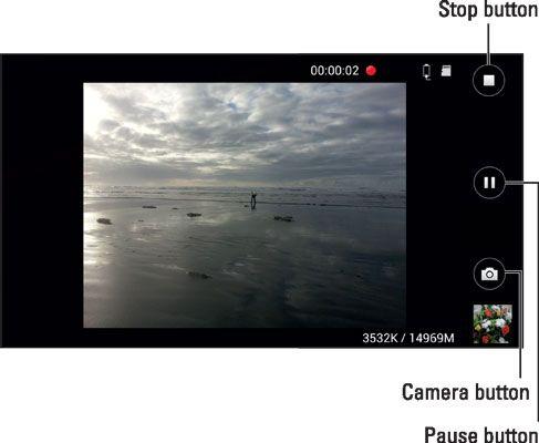 ���� - A câmara de vídeo digital no seu Galaxy S6