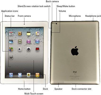 ���� - As características externas do iPad 2