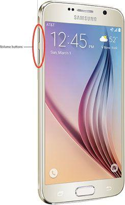 ���� - Botões de hardware do Galaxy S6