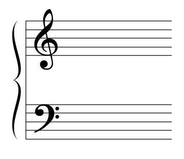 ���� - A equipe e Ledger Lines Grandes de Piano Music
